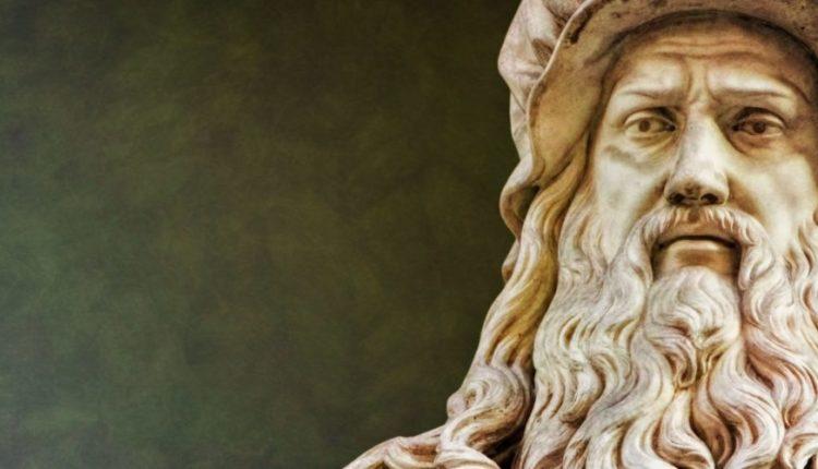 Leonardo da Vinci, considerado um dos maiores gênios da humanidade