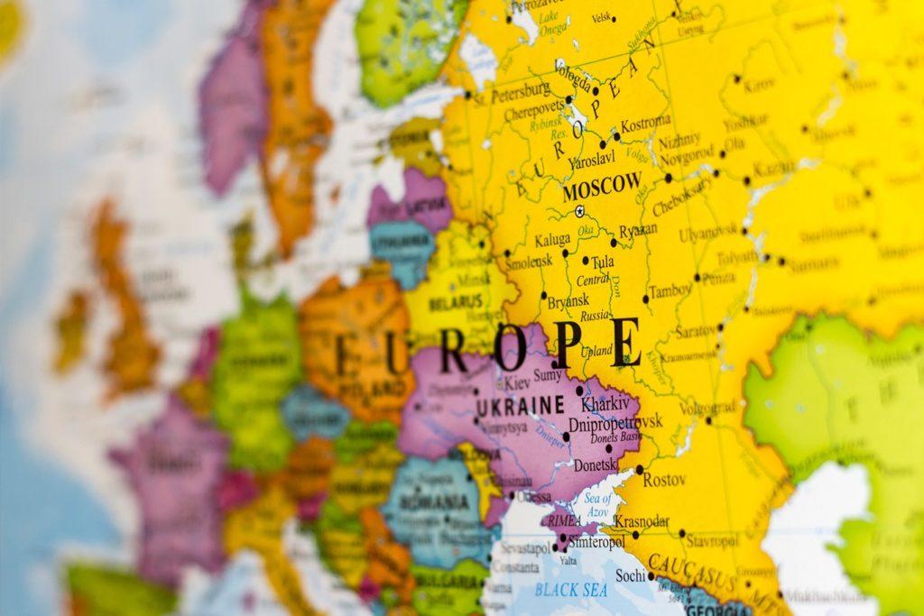 Mapa Da Europa Mapa Politico Mapa Fisico Mapa Dos Pontos