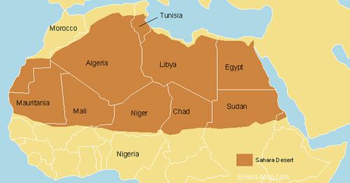 Deserto do Saara - Onde fica, mapa, temperatura e história