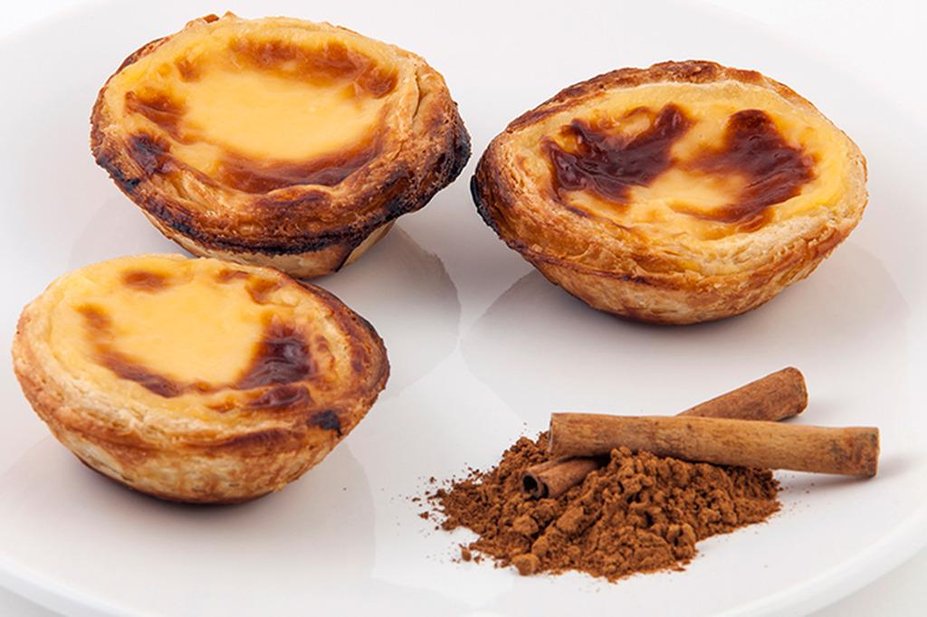 doces típicos de Portugal - Pastel de Nata