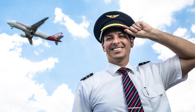 Piloto de avião é uma das área com muitos empregos