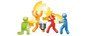dinamicas de grupo trabalho em equipe: quebra-cabeça