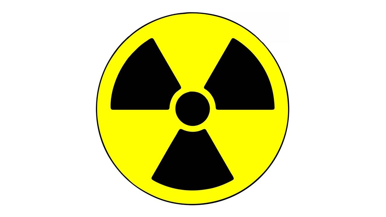 Símbolo da radioatividade, trifólio, o mesmo nome que se dá às ervas com folhas em forma de trevo