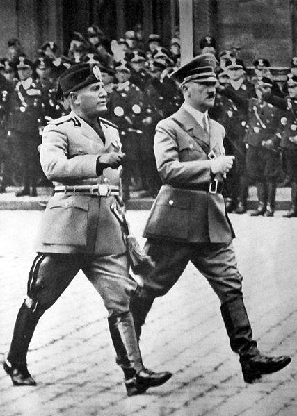 Benito Mussolini e Adolf Hitler