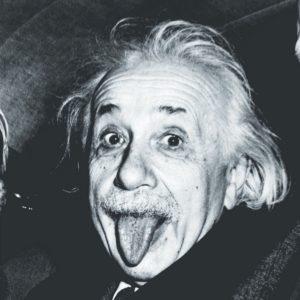 Foto Língua Albert Einstein