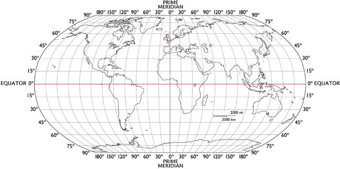 Antípoda - Geografia