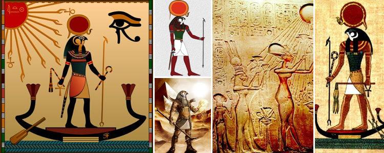 Deus egípcio do Sol