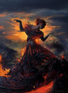 Deusa do Fogo Héstia
