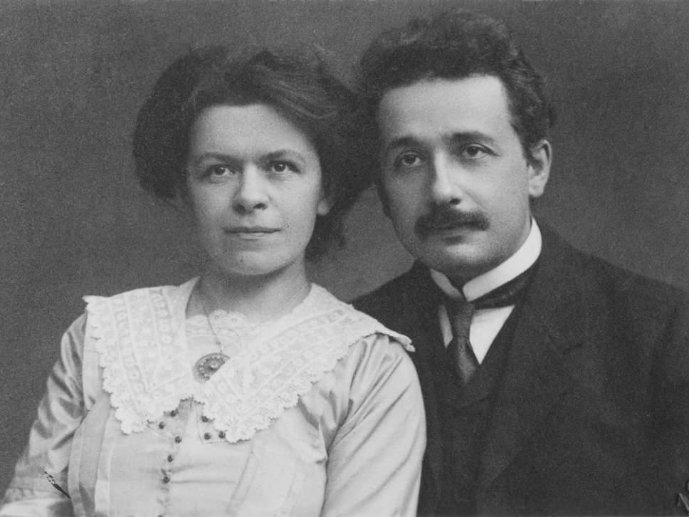 Einstein e Maric em 1911