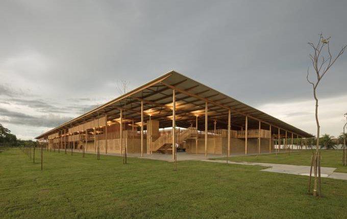 Escola brasileira com arquitetura mais linda do mundo
