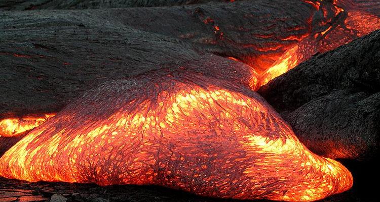 Foto do magma