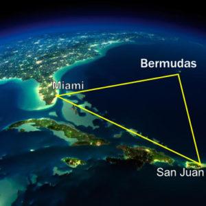 Localização do Triângulo das Bermudas