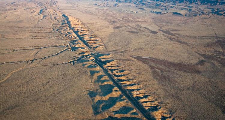 Imagem de Falha Geológica
