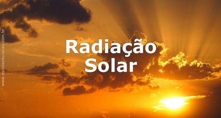 Imagem de Radiação Solar