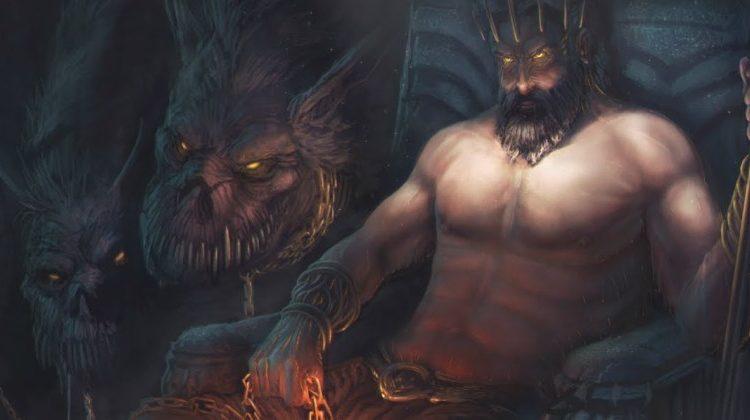 Imagem do Deus Hades