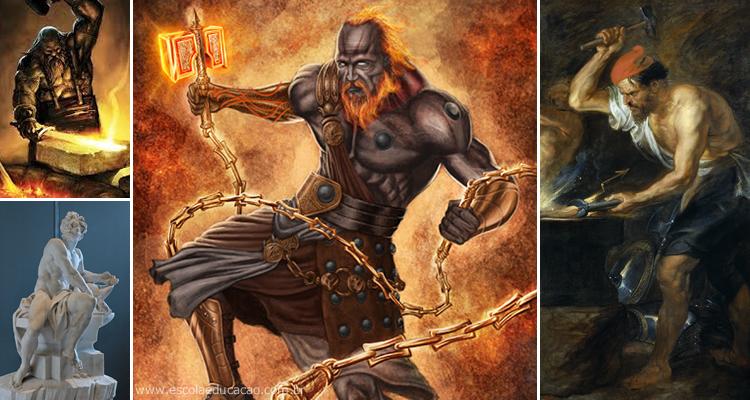 Hefesto - Deus da Mitologia Grega - Representação, Poderes