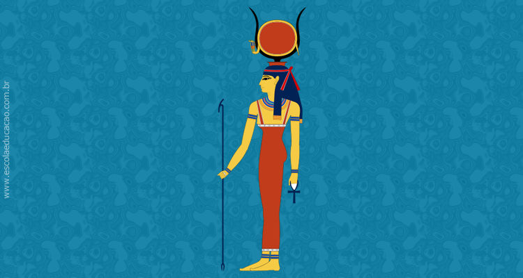 Imagem Deusa Hathor