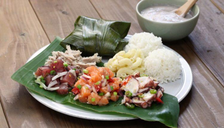 Comida laulau do Havaí