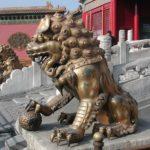 Leões de Guarda da Cidade Imperial.