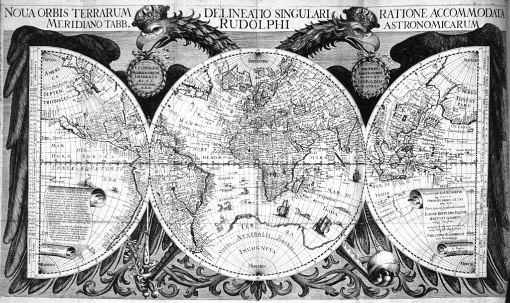 Mapa antigo de 1627