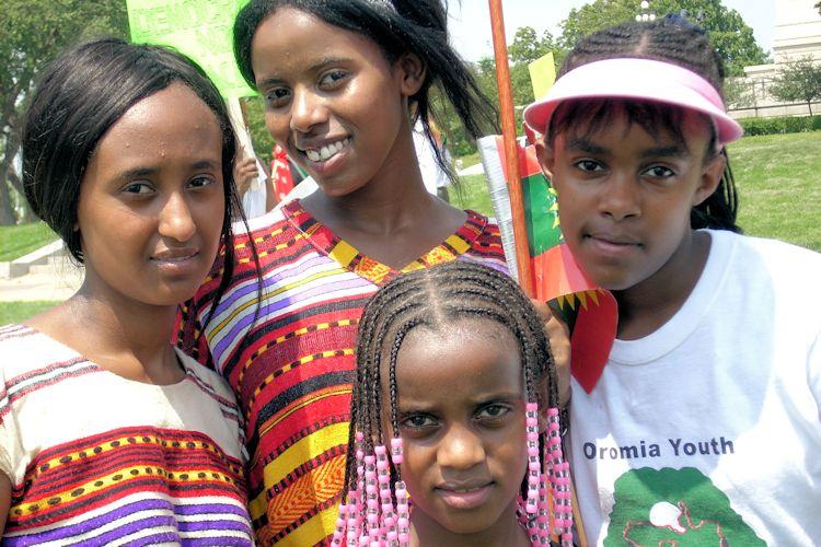 Povo Oromo África Oriental