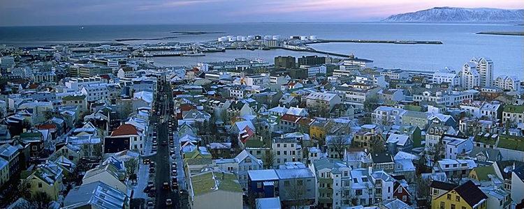 Reykjavík, capital da Islândia