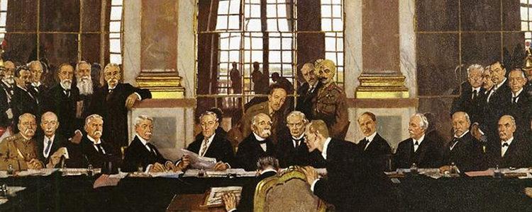 Tudo sobre Tratado de Versalhes