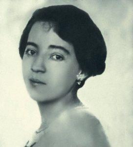 Foto de Anita Malfatti com seus 23 anos