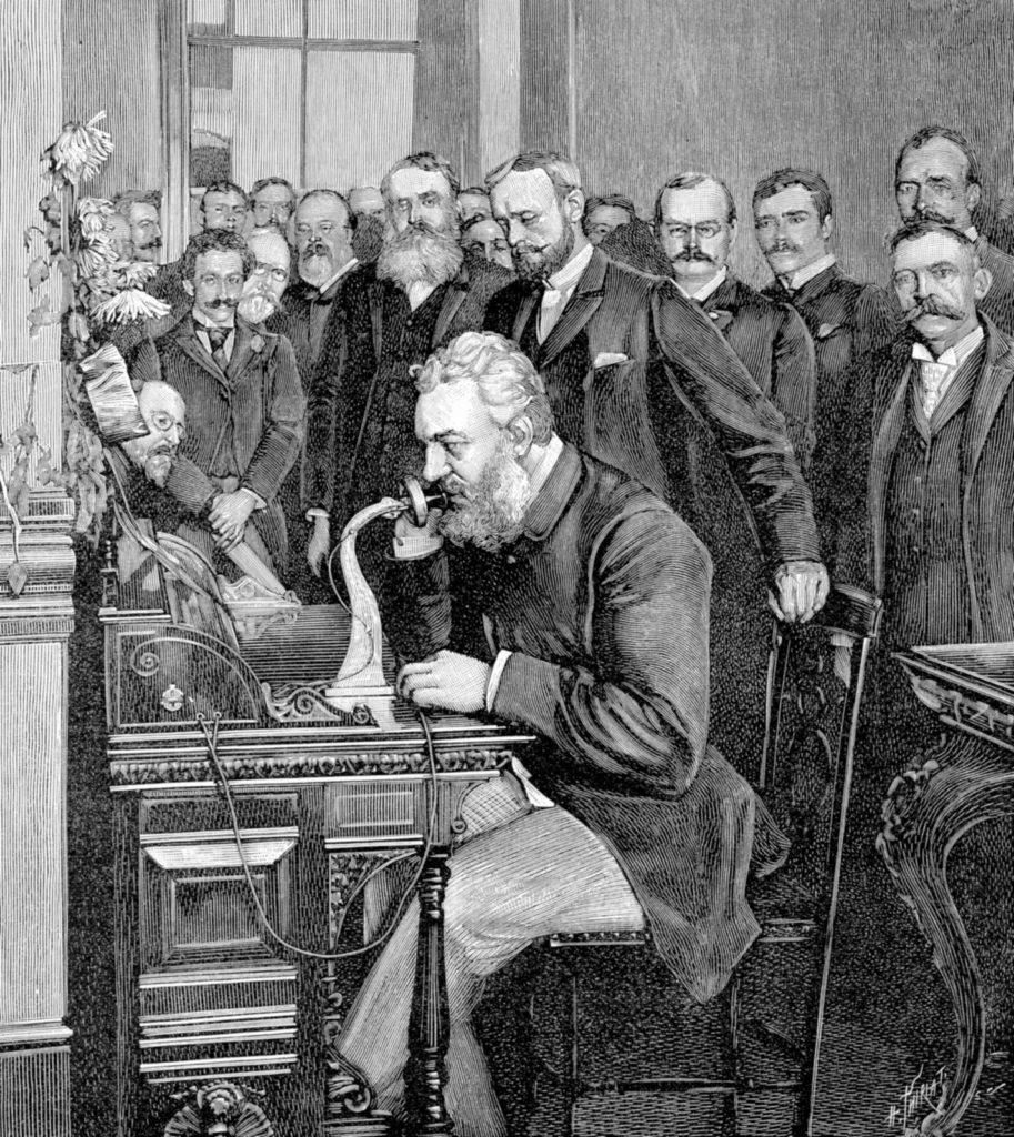 Alexander Graham Bell e telefone