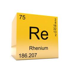 Tabela Periódica - Rênio