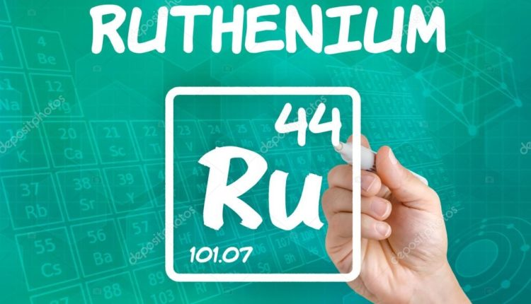 Tudo sobre o elemento químico Rutênio