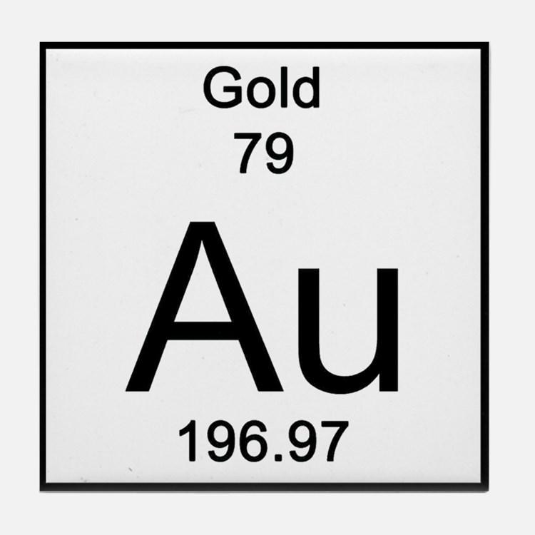 Símbolo Ouro na Tabela Periódica