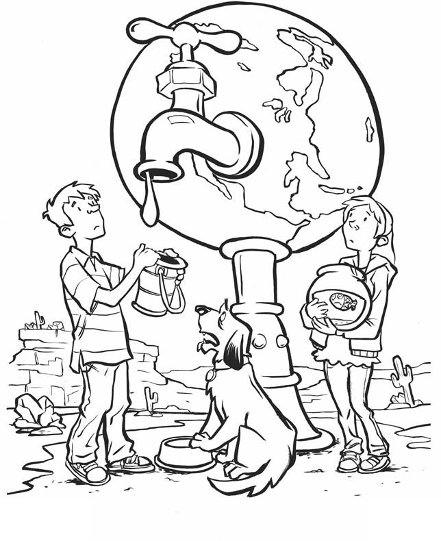 Atividades Para Colorir Sobre O Dia Da Agua Escola Educacao