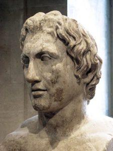 Escultura de Alexandre, o Grande