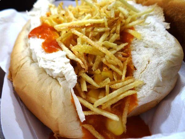 Comida de Festa Junina: Cachorro quente