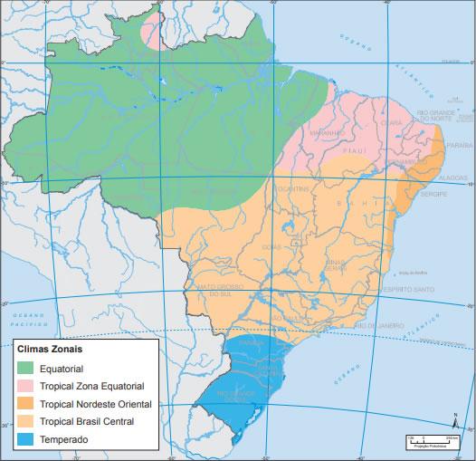 Zonas Climáticas do Brasil