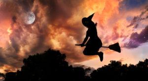 Por que dia das bruxas?