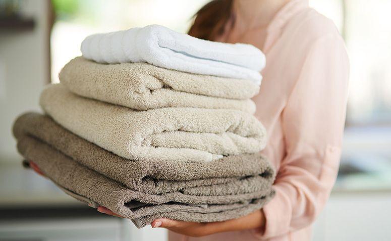 Utilizar a mesma toalha durante muito tempo