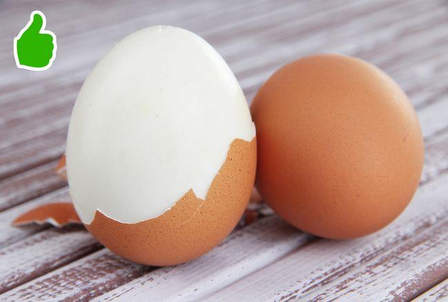 Descascar ovos mais rápido