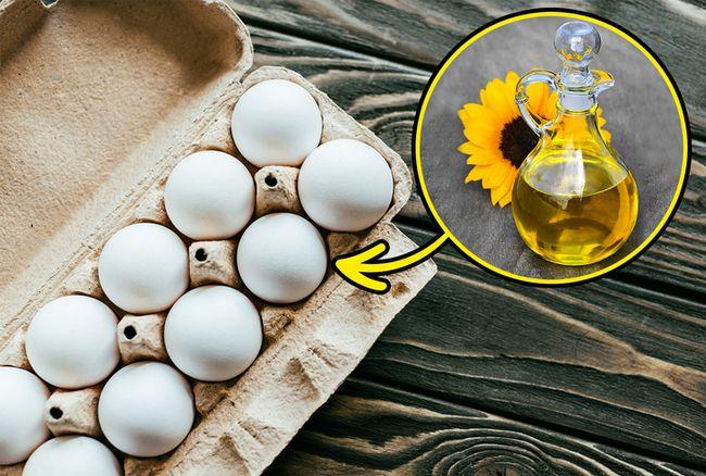 Mantenha os ovos frescos