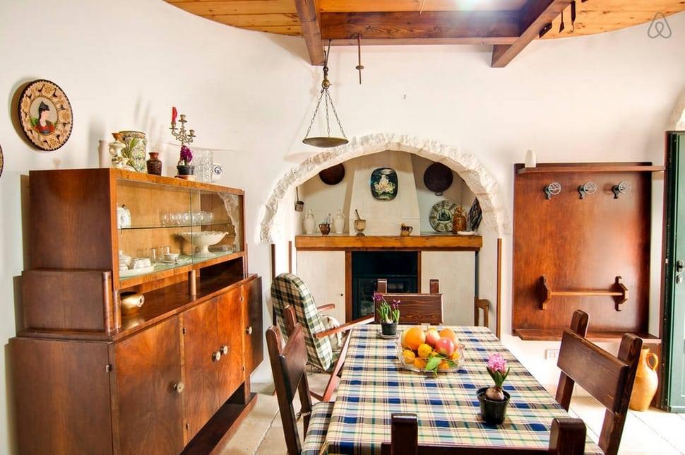 Trullo em Itria Vale, Cisternino, Brindisi, Apúlia, Itália