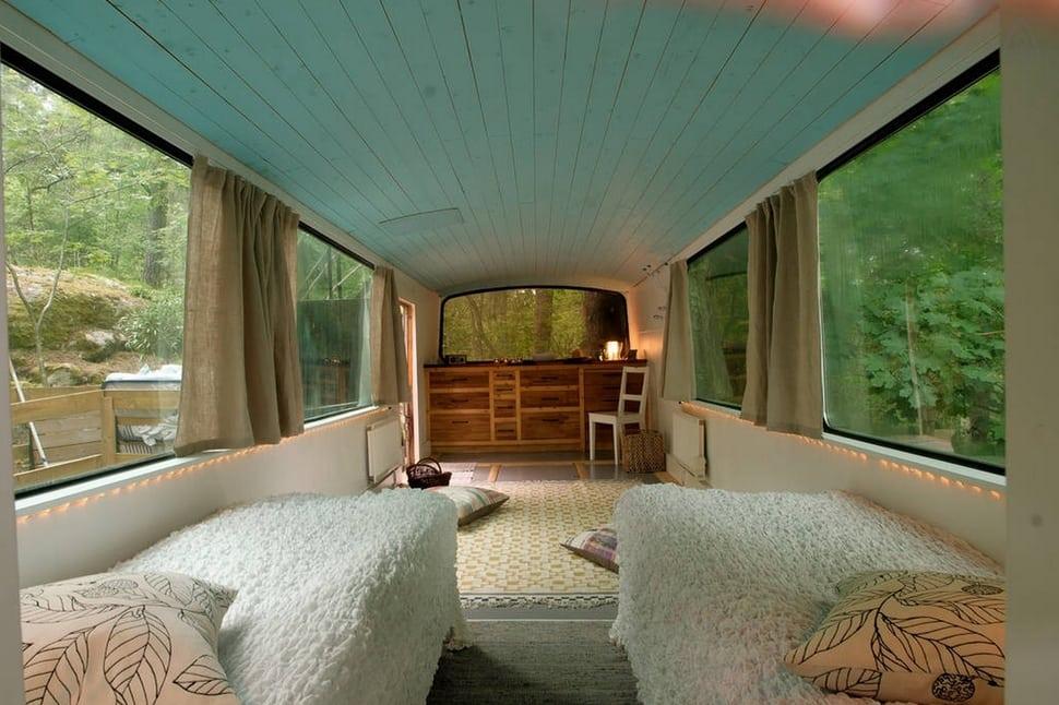 Casa ônibus, Bromma, Suécia