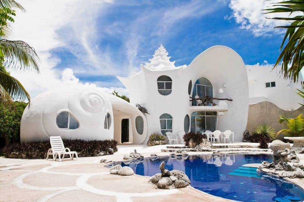 Casa das conchas, Isla Mujeres, México