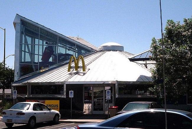 Roswell, Novo México, Estados Unidos – McDonald's OVNI