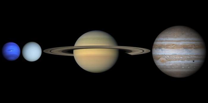Planetas gasosos não têm chão sólido