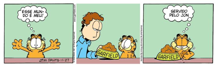 Tirinhas Garfield