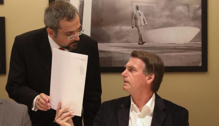 Abraham Weintraub e Bolsonaro