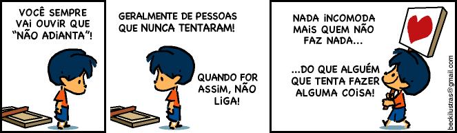 Exemplo Tirinhas Armandinho