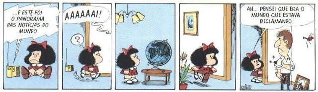 Exemplo Tirinhas Mafalda