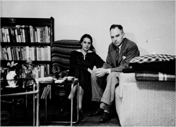 Físicos Lise Meitner e Otto Hahn